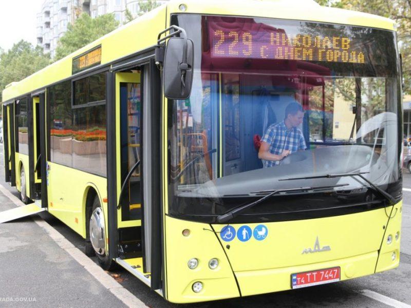 Новые автобусы, купленные за счет бюджета города, «свяжут» Корабельный район и Матвеевку