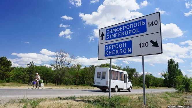 В Крыму продолжают падать запасы воды
