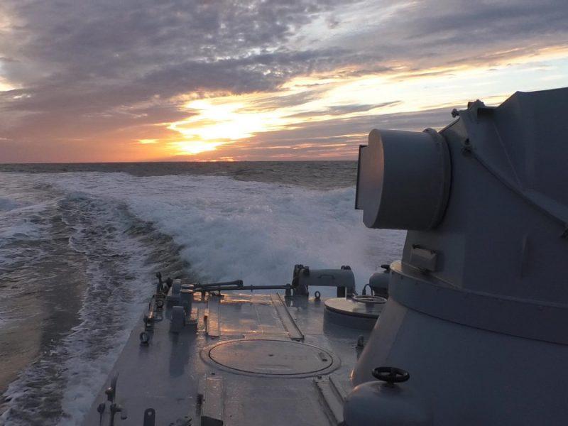 ВМС Украины провели учения в Черном и Азовском морях