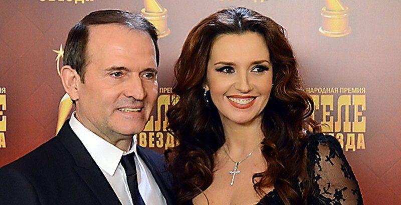За что ввели санкции против жены Медведчука