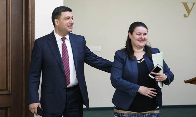 Верховная Рада одобрила назначение Оксаны Маркаровой на пост министра финансов