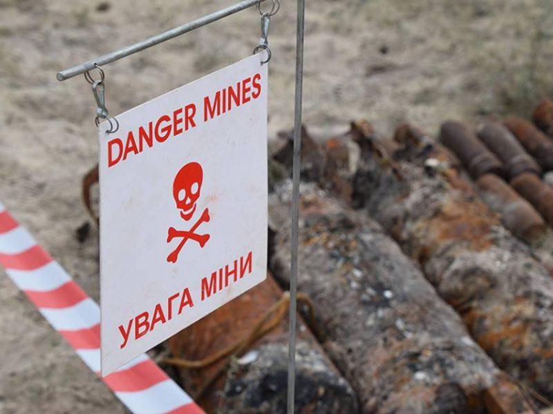 В Украине появится центр противоминных операций