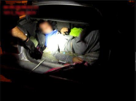 Через границу в багажнике. Так молдаванин пытался ввезти в Украину из РФ своего земляка
