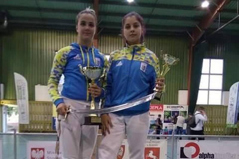 Саблистка из Николаева стала победительницей этапа кадетского цикла Кубка Европы