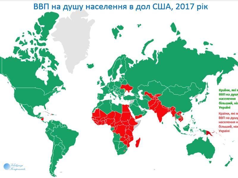 В новом отчете МВФ Украина является самой бедной страной Европы