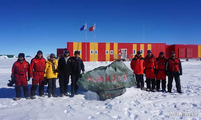 Китай хочет построить на Антарктиде регулярный аэропорт