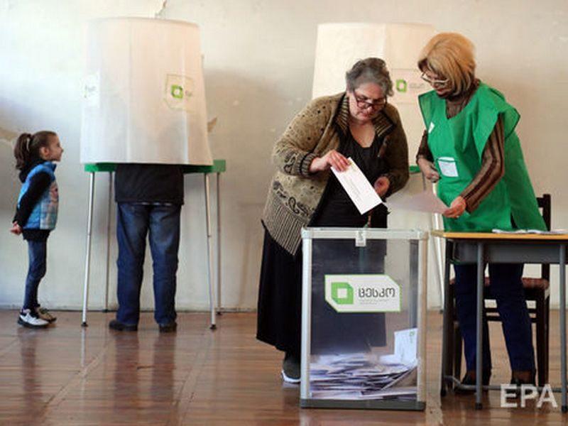 Выборы президента Грузии: данные экзит-полла говорят о втором туре