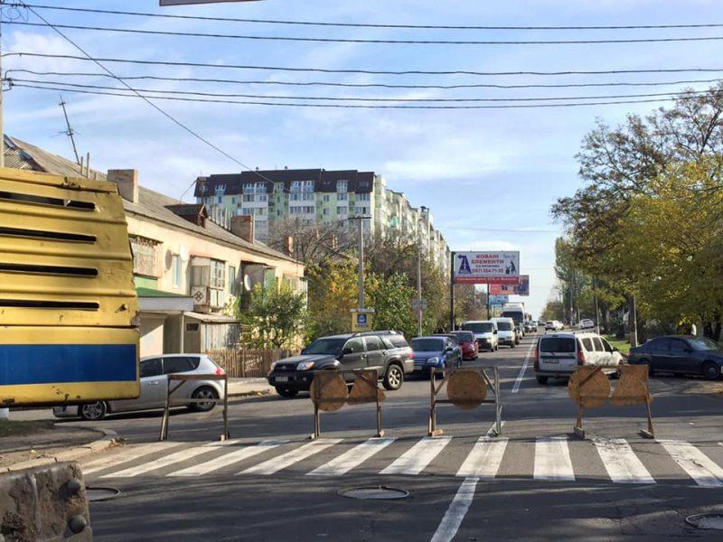 В Николаеве на 2 недели перекроют часть Херсонского шоссе – Николаевская ТЭЦ будет устранять дефект на теплотрассе (ОБНОВЛЕНО)