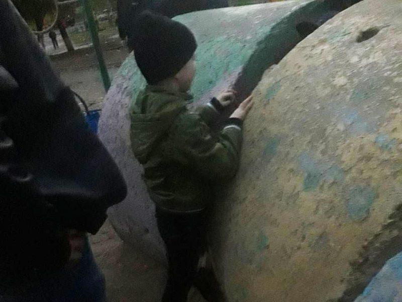 Спасателям Николаевщины пришлось вызволять 7-летнего мальчика из бетонного лабиринта