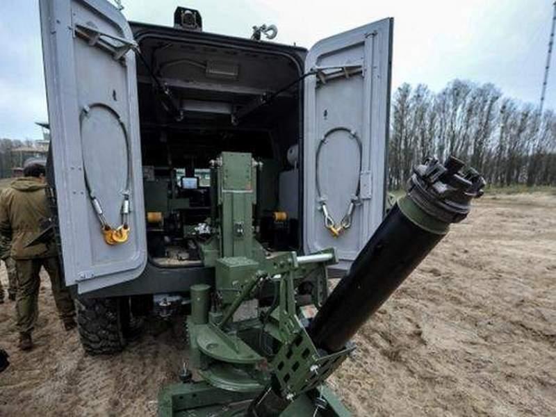 Высокая скорость развертывания и точность поражения: в Украине испытали новый минометный комплекс «Барс»