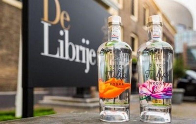 Теперь есть и «тюльпановка»: в Голландии выпустили Tulip Vodka