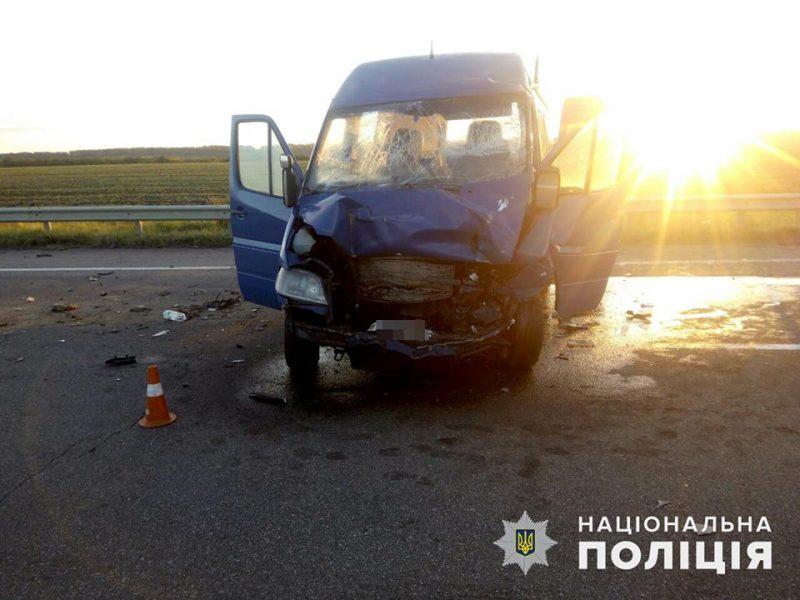 Водителя белорусской маршрутки, из-за которого семеро оказались в больнице на Николаевщине, задержали