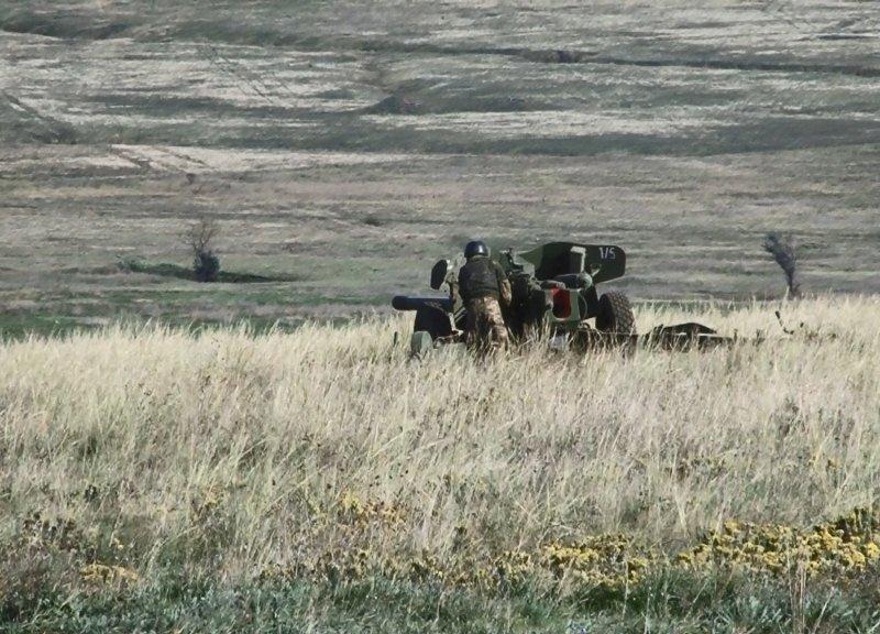 На полигоне Николаевщины состоялась практическая фаза тактических учений артиллерийской бригады