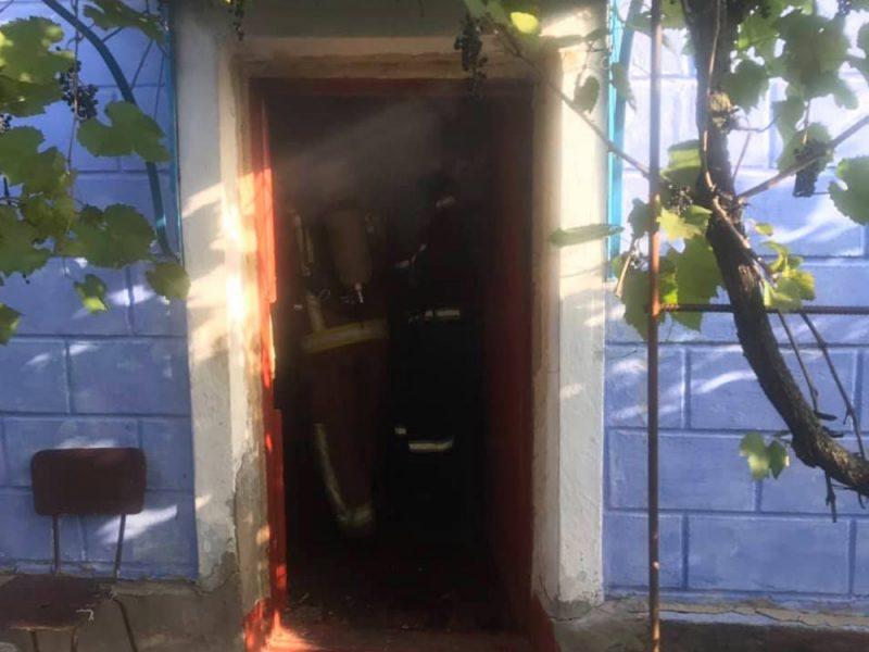 На Николаевщине на пожаре погиб 56-летний мужчина