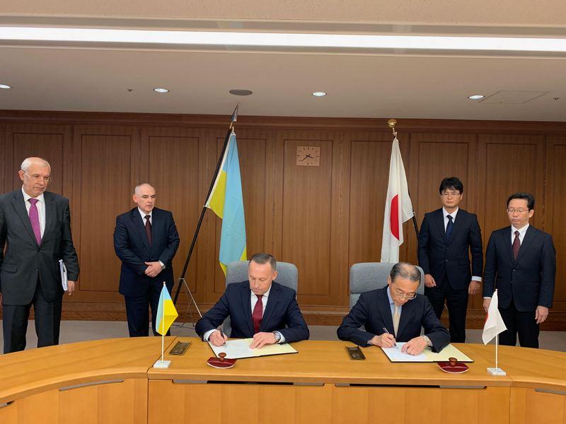 Министерства обороны Украины и Японии подписали Меморандум о сотрудничестве