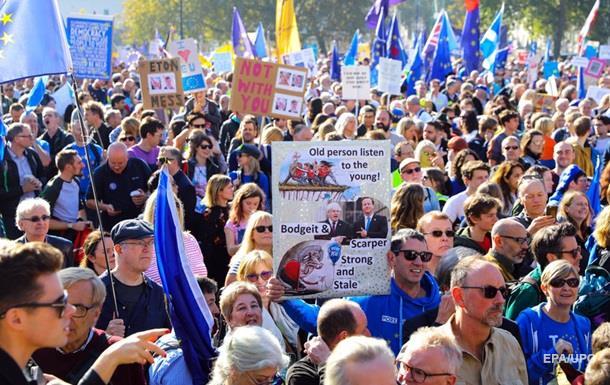 В Лондоне требуют нового референдума по Brexit