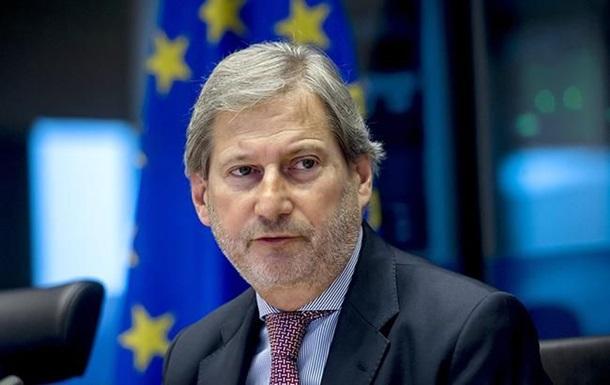 Украину посетит еврокомиссар Йоханнес Хан