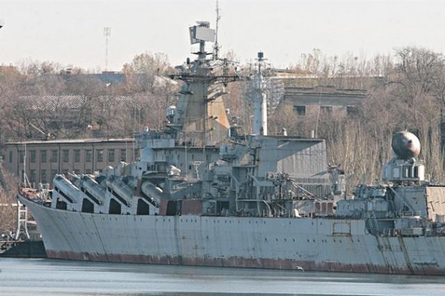 Николаевский краевед предложил сделать из ржавеющего крейсера «Украина» современный технопарк