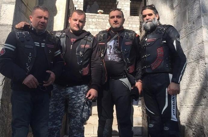 В Черногории схватили «Ночных волков» — они сопровождали сербского патриарха