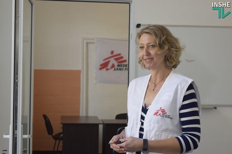 150 клиентов Николаевского наркодиспансера благодаря «Врачам без границ» получат лечение от гепатита С
