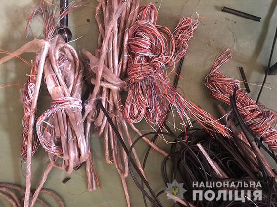 Одессит приезжал на Николаевщину красть телефонный кабель