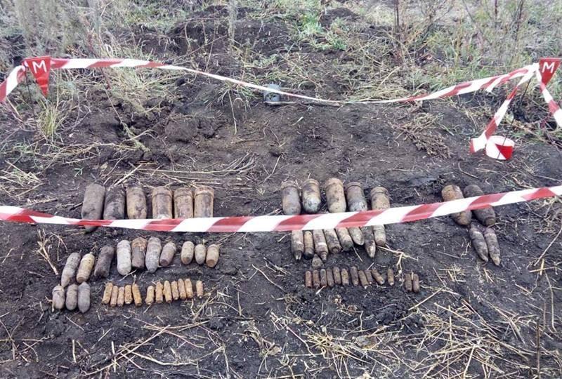 На Николаевщине обезвредили 61 взрывоопасный предмет
