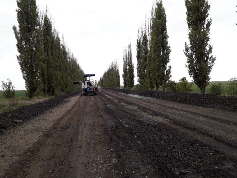 Николаевские дорожники начали ремонт на трассе Т-15-13 Нечаянное – Очаков
