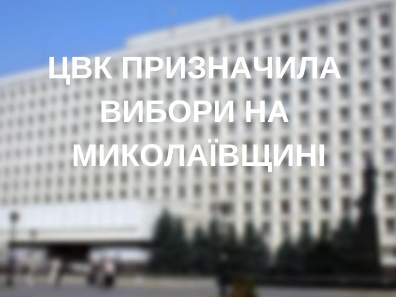 Стало известно, где именно на Николаевщине пройдут выборы 23 декабря