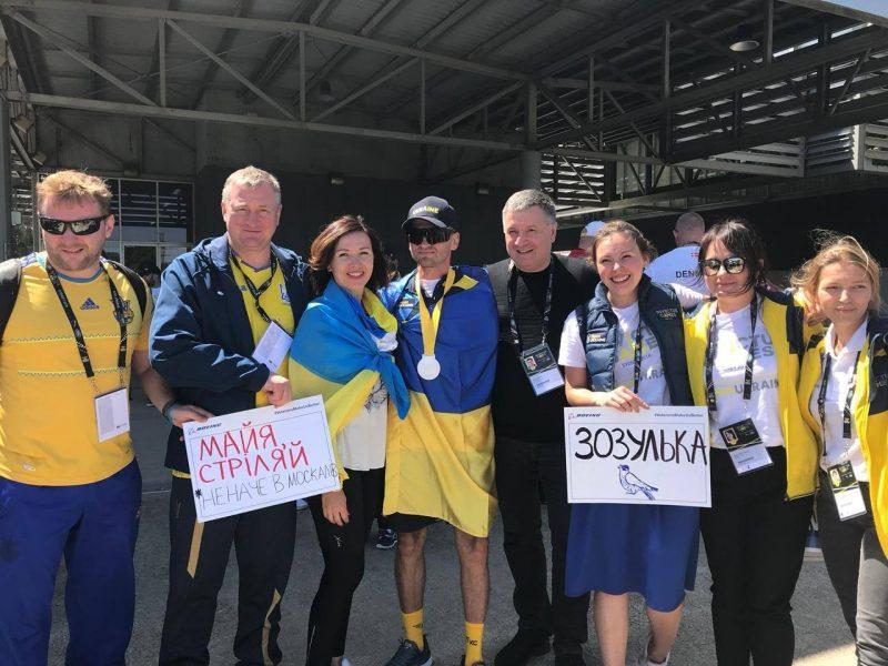 Украинцы завоевали еще два «серебра» на Играх непокоренных