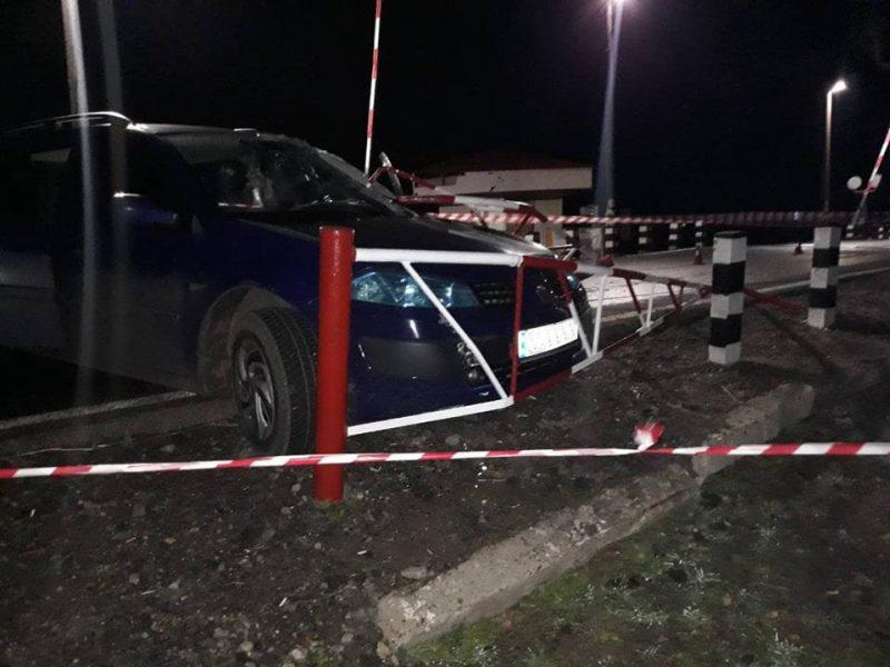 ДТП на трассе Н-11: «Renault Megane» столкнулся с железобетонной опорой, погиб водитель