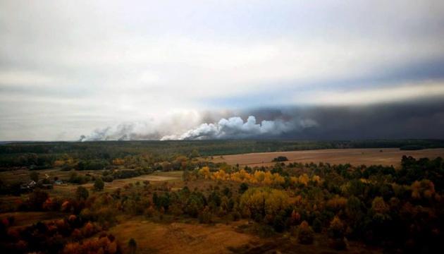 Пожар на складах под Ичней ликвидирован — ГСЧС