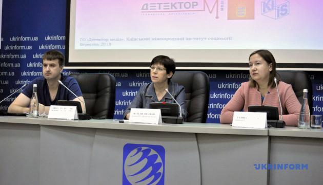 Правда о Донбассе: украинцы назвали три источника информации, которым доверяют