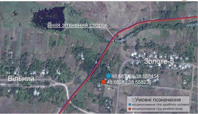 Боевики игнорируют запросы украинской стороны о выдаче тел мирных жителей, погибших в Золотом