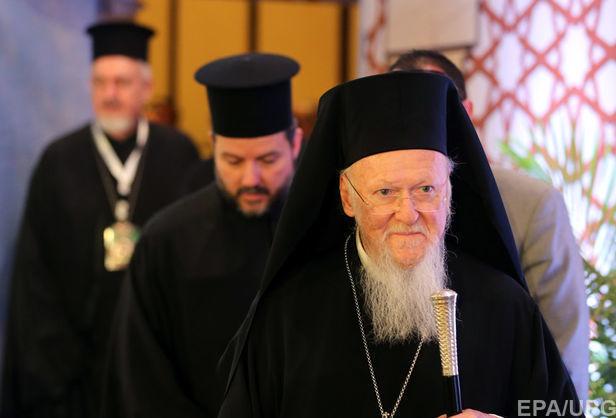 Патриарх Варфоломей встретится с детьми украинских правоохранителей, погибших на Донбассе