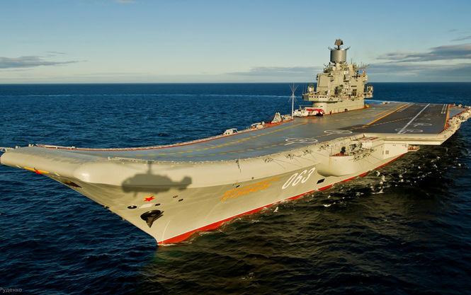 В России затонул док авианосца Адмирал Кузнецов, есть пострадавшие