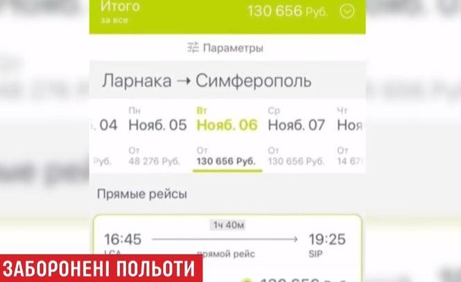 СМИ обнаружили прямые рейсы из Кипра в оккупированный РФ Симферополь