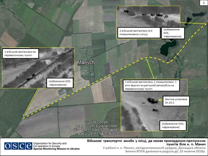 ОБСЕ обнаружила, как РФ ночью перебросила в Украину летальное оружие