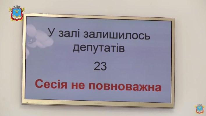 Сессия горсовета Николаева после перерыва так и не смогла начать работу