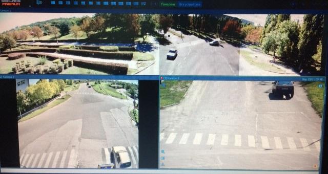 В Южноукраинске презентовали современную систему видеонаблюдения «Безопасный город»