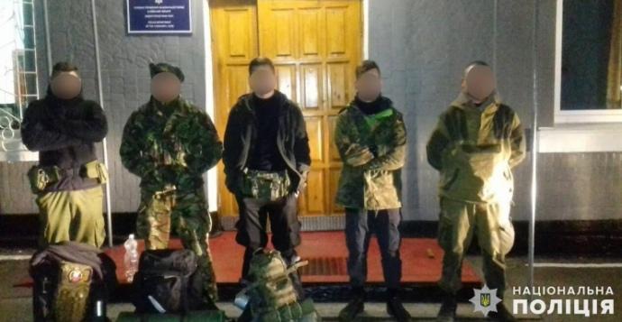 """В Чернобыльской зоне задержали пятерых """"сталкеров"""""""