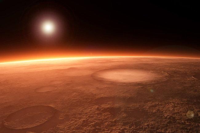 Потрясающую марсианскую панораму выложили в Сеть (ВИДЕО)