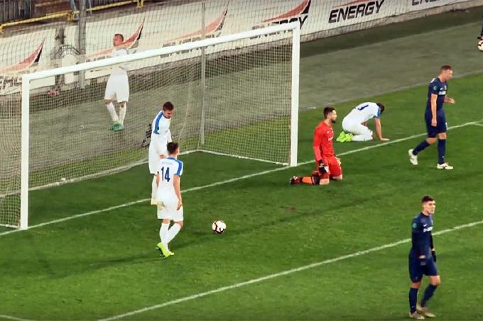 МФК в гостях потерпел сокрушительное поражение от «Днепр-1»