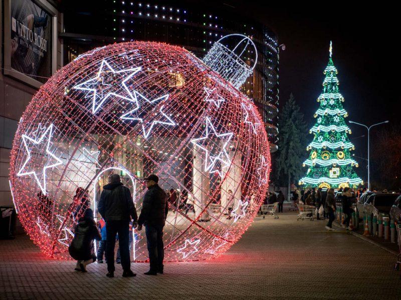 """На этот Новый год николаевацам купили """"Звездное небо"""" – всего за полмиллиона"""