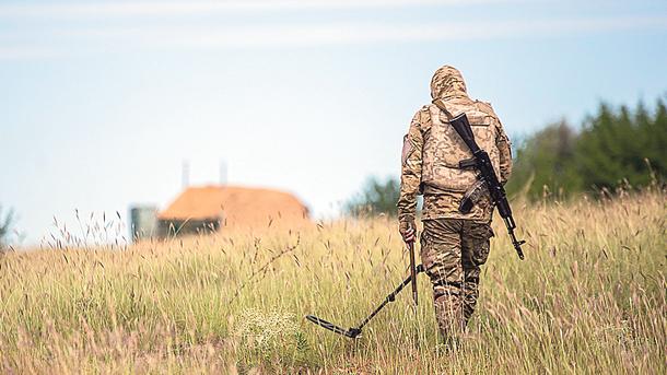 Минобороны опубликовало карту минных полей на подконтрольной территории Донбасса