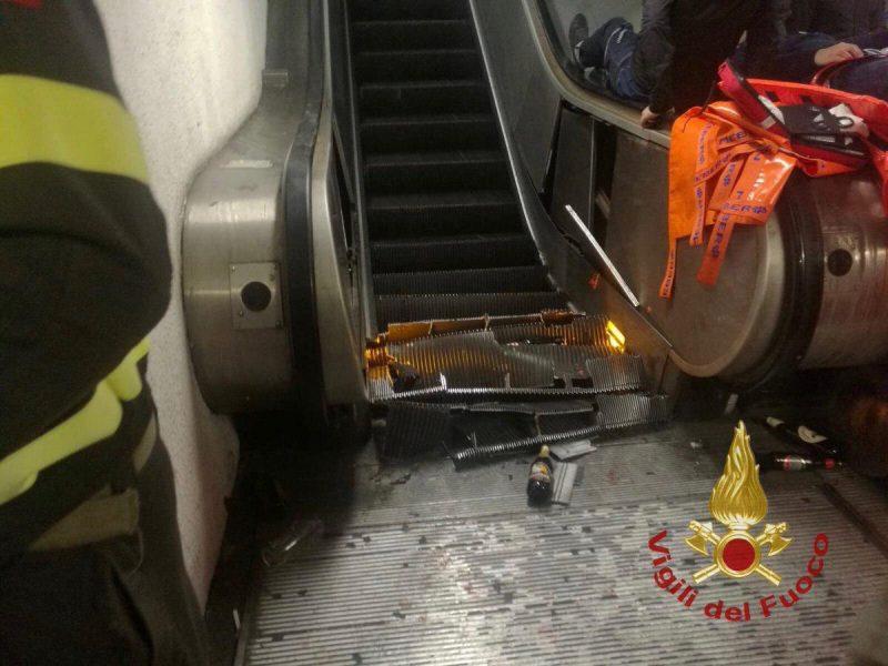 Украинцы, пострадавшие в римском метро, оказались фанатами российского ЦСКА