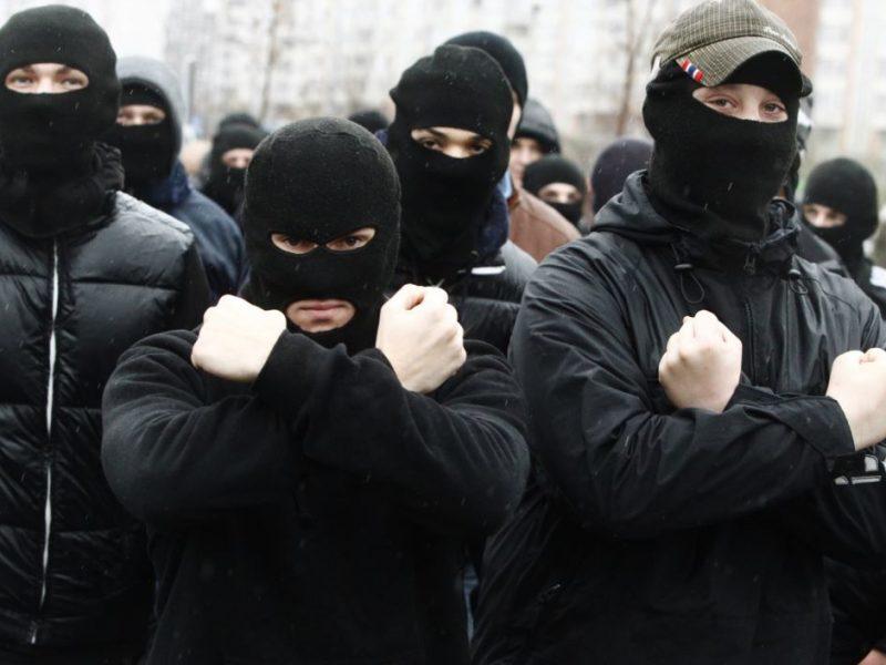 Лидер националистов из С14 назвал цель, ради которой готов объединиться с россиянами