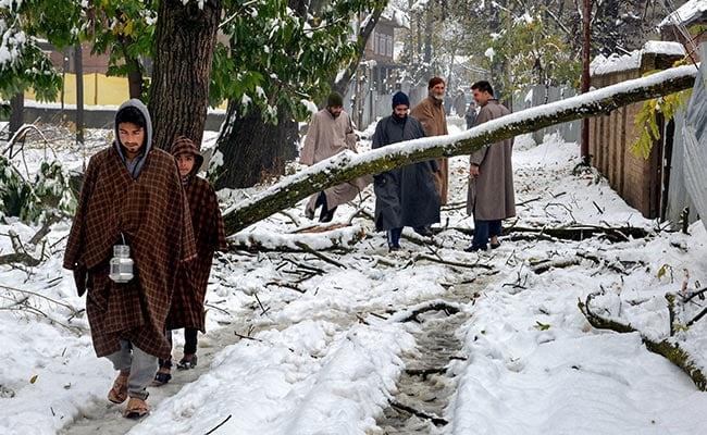 В Индии выпал снег впервые за 10 лет