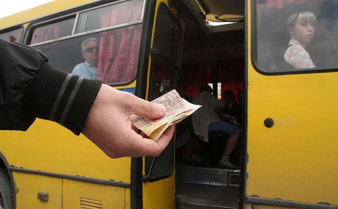 В Херсоне водители маршруток самовольно подняли цены на проезд