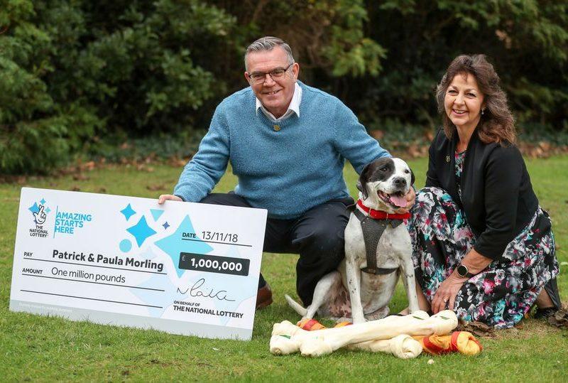 Британец выиграл 1 млн.фунтов стерлингов в лотерею благодаря своей собаке