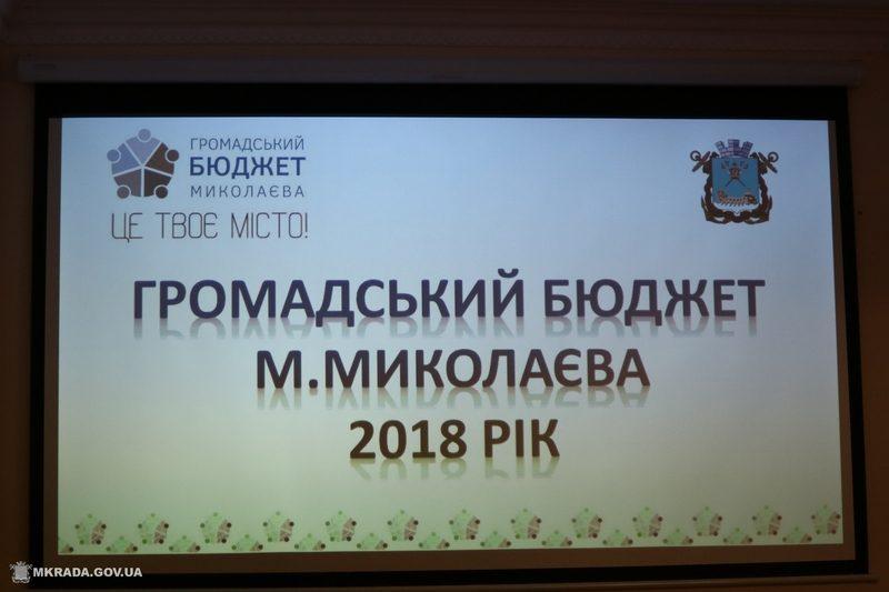 «Общественный бюджет Николаева-2018»: из 28 проектов реализация 11 не дотягивает до 50%